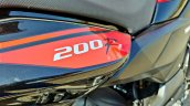Hero Xtreme 200r Road Test Review Rear Panel