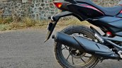 Hero Xtreme 200r Road Test Review Rear Wheel