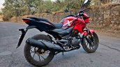 Hero Xtreme 200r Road Test Review Right Reae Quart