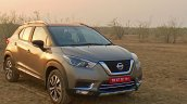 Nissan Kicks Review Images Front Three Quarters 3