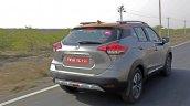 Nissan Kicks Review Images Rear Three Quarters Act