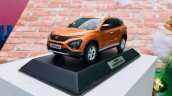 Tata Harrier Public Debut Gurugram Images Scale Mo