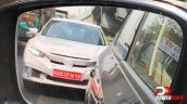 2019 Honda Civic Facelift Front Spy Shot India