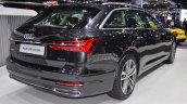 Audi A6 Avant Motor Expo 2018 Images Rear Three Qu