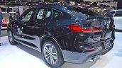 Bmw X4 Thai Motor Expo 2018 Images Rear Three Quar