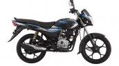 Bajaj Platina 110 Side Profile Black With Blue