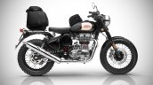 Royal Enfield Classic 500 Scrambler Render With Lu