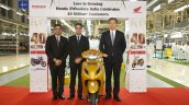 Honda 2wheelers Roll Out 40th Million Two Wheeler