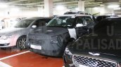 Hyundai Styx Qxi Spy Images Front Three Quarters