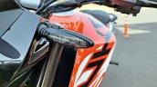 Ktm 125 Duke Abs Review Detail Shots Blinker Front