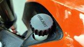 Ktm 125 Duke Abs Review Detail Shots Coolant Fille
