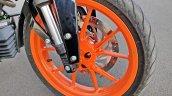 Ktm 125 Duke Abs Review Detail Shots Front Wheel