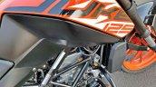Ktm 125 Duke Abs Review Detail Shots Fuel Tank
