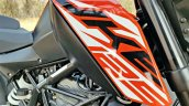 Ktm 125 Duke Abs Review Detail Shots Fuel Tank And