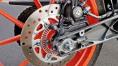 Ktm 125 Duke Abs Review Detail Shots Rear Brake