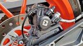 Ktm 125 Duke Abs Review Detail Shots Rear Brake An