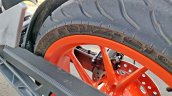 Ktm 125 Duke Abs Review Detail Shots Rear Wheel