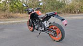 Ktm 125 Duke Abs Review Still Shots Left Rear Quar