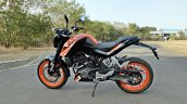Ktm 125 Duke Abs Review Still Shots Left Side