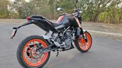 Ktm 125 Duke Abs Review Still Shots Right Rear Qua