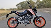Ktm 125 Duke Abs Review Still Shots Right Side
