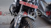 Ktm 390 Adventure Spied In India Front