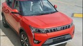 2018 Mahindra Xuv300 Images Red Front Three Quarte