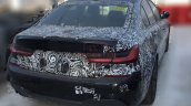 2019 Bmw 3 Series Rear Three Quarters Spy Shot Ind