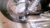 Bajaj Avenger 220 Abs Spied Rear Brake