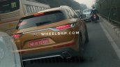 Ds 7 Crossback Spy Images India Rear 1