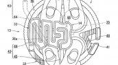 Suzuki Gixxer 250 Engine Patent Image 4 Valve Layo