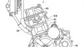 Suzuki Gixxer 250 Engine Patent Image Right Side P
