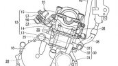Suzuki Gixxer 250 Engine Patent Image Side Profile