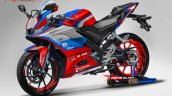 Yamaha Yzf R15 Motogp Safety Bike Livery Red Rende