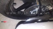Bajaj Pulsar 220 Abs Spied At Dealership Rear Brak
