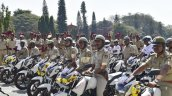 Bangalore Police Adds 911 Tvs Apache Motorcycles T