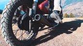 Royal Enfield Bullet 350 Modified Rear Tyre