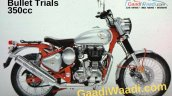 Royal Enfield Bullet Trials 350 Leaked Side Profil