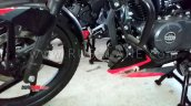 Bajaj Pulsar 150 Twin Disc Abs Spied Engine Cowl