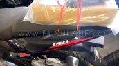 Bajaj Pulsar 150 Twin Disc Abs Spied Rear Panel