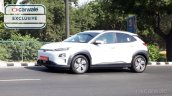 Hyundai Kona India Spy Image Front Three Quarters