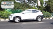 Hyundai Kona India Spy Image Side Profile 1