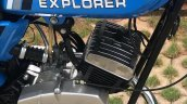 Royal Enfield Explorer By Deena From Mysore Engine