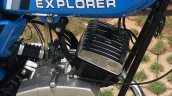 Royal Enfield Explorer By Deena From Mysore Fuel T