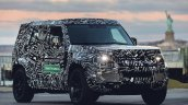 2020 Land Rover Defender Prototype Front Three Qua