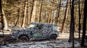 2020 Land Rover Defender Prototype Off Roading