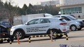 Hyundai Santa Cruz Pickup Test Mule