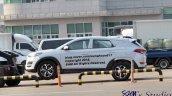 Hyundai Santa Cruz Pickup Test Mule Profile Spy Sh