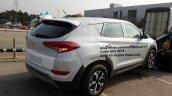Hyundai Santa Cruz Pickup Test Mule Rear Three Qua