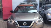 Indian Spec Nissan Kicks Front At Dealership
